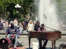 Straßen-Musiker stockfotos