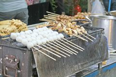 Straßen-Nahrung lizenzfreie stockfotos