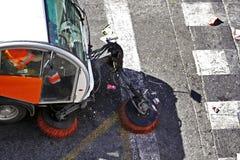 Straßen-Reinigung stockbilder