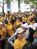 Straßen-Rennen der Frauen Lizenzfreie Stockfotos