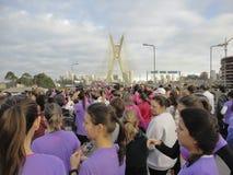 Straßen-Rennen der Frauen Lizenzfreie Stockbilder