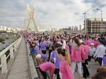 Straßen-Rennen der Frauen lizenzfreies stockfoto
