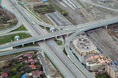 Straßen in Sochi Stockfotografie
