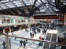 Straßen-Station London-Liverpool Stockfotografie