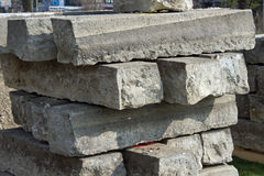 Straßen-Steine Stockfoto