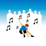 Straßen-Tänzer Lizenzfreies Stockbild