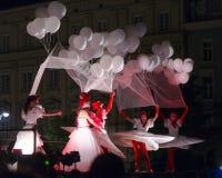 Straßen-Theater Tol Stockfotografie