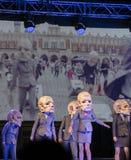 Straßen-Theaterfestival in Krakau Stockbilder