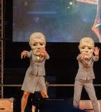 Straßen-Theaterfestival in Krakau Stockfotografie
