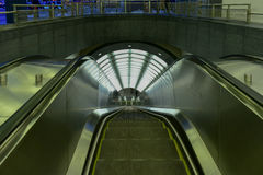 72. Straßen-U-Bahnstation Stockbild