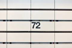 72. Straßen-U-Bahnstation Stockfoto