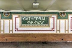110. Straßen-U-Bahnstation - NYC Lizenzfreies Stockbild