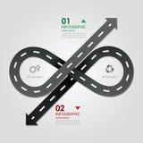 Straßen-u. Straßen-Geschäft Infographics Stockfotos