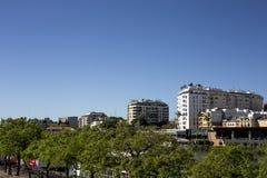 Straßen und Ecken von Sevilla andalusia spanien lizenzfreies stockfoto
