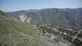 Straßen und Natur in Armenien-Himmel, Reise, Landschaft, Hintergrund, Tourismus, Berg, Panorama stock footage
