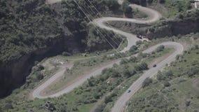 Straßen und Natur in Armenien-Himmel, Reise, Landschaft, Hintergrund, Tourismus, Berg, Panorama stock video footage