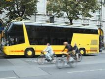 Straßen-Verkehr Stockbild