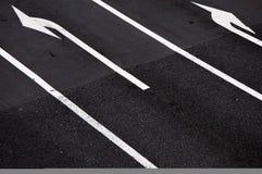 Straßen-Verzweigung Stockfoto