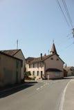 Straßen von Allaman Lizenzfreies Stockfoto