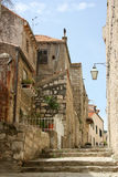 Straßen von altem Kroatien Lizenzfreie Stockbilder