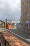 Straßen von altem San Juan Stockfotos