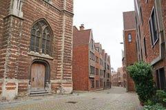 Straßen von Antwerpen Stockbilder