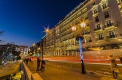 Straßen von Athen Lizenzfreie Stockbilder