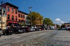 Straßen von Baltimore Maryland Lizenzfreies Stockfoto