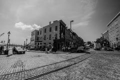 Straßen von Baltimore Maryland Stockfoto