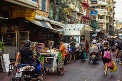 Straßen von Bangkok lizenzfreies stockbild