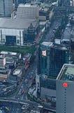 Straßen von Bangkok Lizenzfreie Stockfotos
