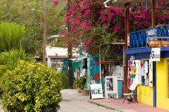 Straßen von Bequia, karibisch Lizenzfreie Stockfotografie