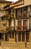 Straßen von Guimares Lizenzfreies Stockbild