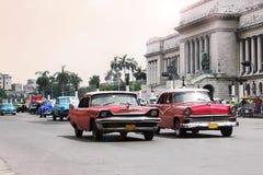 Straßen von Havana Stockbild