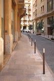 Straßen von im Stadtzentrum gelegenem Beirut (der Libanon) Stockfotos
