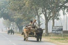 Straßen von Indien Stockfotos