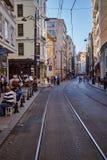 Straßen von Istanbul stockbild