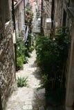 Straßen von Kroatien Lizenzfreies Stockfoto