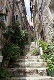 Straßen von Kroatien Stockfotografie