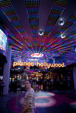 Straßen von Las Vegas Lizenzfreie Stockfotos