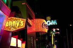 Straßen von Las Vegas Stockfoto