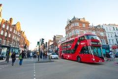 Straßen von London Stockbild