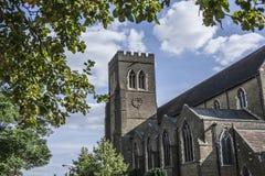 Straßen von London, die Kirche Lizenzfreie Stockbilder