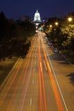 Straßen von Madison Stockfotografie