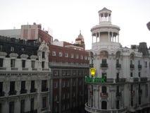 Straßen von Madrid Stockfoto
