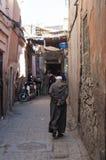 Straßen von Marrakesch stockfoto