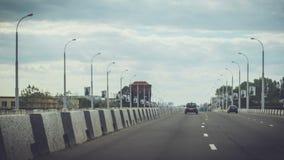 Straßen von Minsk Lizenzfreie Stockfotos