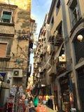 Straßen von Neapel Lizenzfreies Stockbild