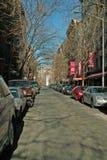 Straßen von New York stockbild