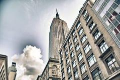 Straßen von New York City stockfoto